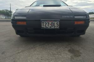 Mazda RX7 RX-7 1987 Turbo II S4 Turbo 2 87 Black