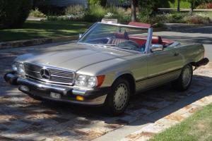 1986 560 SL Mercedes-Benz Raodster 81K   450SL 380SL