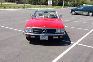 1985 Mercedes 500sl Euro Celebrity Owned 50k miles