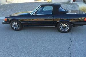 1979 Mercedes 450SL  Black Convert Top/Leather Interior New Radial Tires $11,750