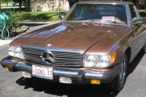 1977 Mercedes-Benz 450SL Base Convertible 2-Door 4.5L