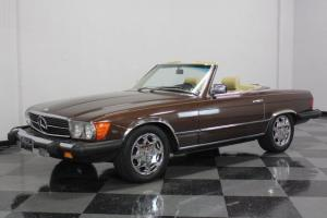 VERY CLEAN 380SL, ONLY 70K ORIGINAL MILES, BOTH TOPS, EXCELLENT COLOR COMBO