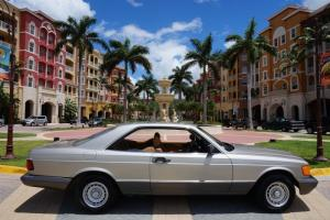 1985 MERCEDES-BENZ 500SEC**RARE LOW MILES**FL