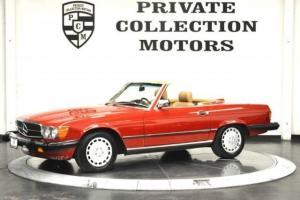 1986 Mercedes-Benz 560SL 6,721 Original Miles 1 Ow