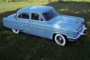 1953 MERCURY-FLATHEAD V-8--ORIGINAL EQUIPMENT-ORIGINAL FACTORY DECALS