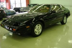 1984 Nissan Datsun 300 ZX black tan leather 5 speed T - Tops, collector quality Photo