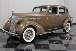 VERY ORIGINAL SURVIVOR, PAINT AND INTERIOR ALL 1937 PACKARD, AMAZING CONDITION