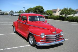 1947 Plymouth P-15 Special Deluxe 2-Door Coupe