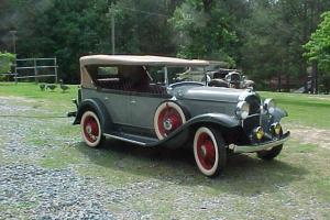 1931 Plymouth Model PA  Touring Car       1 of 6 Known