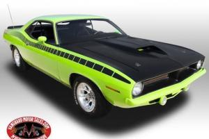 1973 Plymouth Cuda AAR Tribute 440 4 Speed Sublime WOW