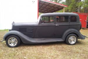 1934 Plymouth Four Door sedan Street Rod Rat Rod Custom NO RESERVE!