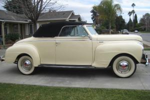 1941 Plymouth Convertible, 100 point Concours Restoration, Drive Anywhere
