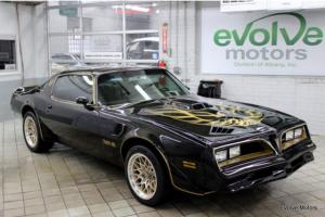 1978 Pontiac Trans Am Smokey and the Bandit 455 BANKRUPTCY SALE