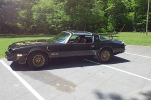 1978 Trans Am Firebird T-Top 6.6 400 Automatic Black