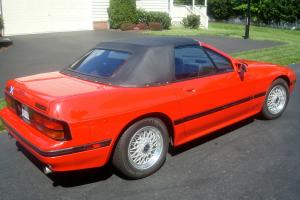1988 Mazda RX7, Red, Convertible