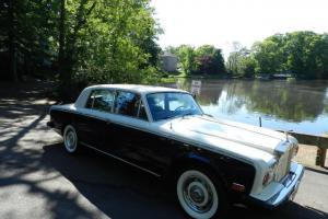 1978 ROLLS ROYCE SILVER SHADOW WHITE SHOWROOM CLASSIC ANTIQUE