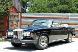 1980 Rolls Royce Corniche II Convertible, Highly Documented, 44k Miles