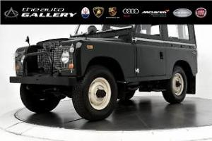 1968 Land Rover DISCOVERY SERIES II
