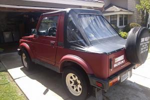 1988 Suzuki Samurai, runs great!