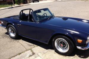 1969 TR-6  California revitalized 2-door muscle