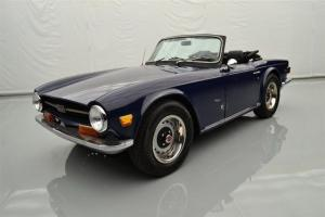 1971 Triumph 2dr Conv TR6 Photo