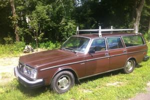 1980 265 Volvo Wagon Diesel Brown Exterior
