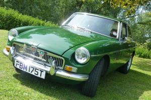 CLASSIC MG BGT 1979 CHROME BUMPER CONVERSION WITH OVERDRIVE
