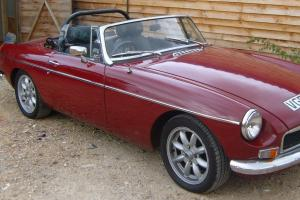 MGB ROADSTER 1977  Photo