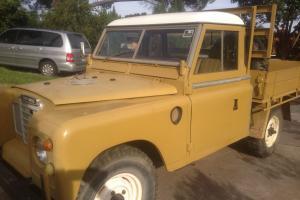 Landrover Series 3 UTE Vintage Classic 109 1973 Diesel in Banksia Park, SA