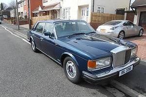 Bentley mulsanne turbo 1988