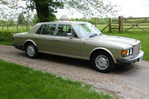 1983 BENTLEY MULSANNE S TURBO 72000 MILES, FBSH BEIGE