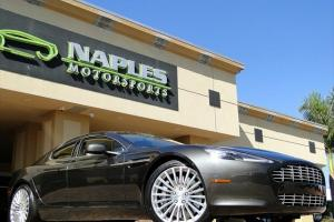 2011 Aston Martin Rapide, Quantum Silver, Phantom Grey / Cream Truffle Leather8k Photo