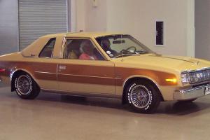 1978 AMC Concord D/L 2 Door,2 Tone Paint,Audi 4 Cylinder Motor,34,808 Miles