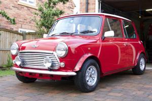 Restored Rover Classic Mini Cooper 1.3i MPI