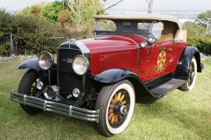 1929 BUICK RUMBLE SEAT ROADSTER MODEL 29-44 121 INCH WHEEL BASE 309 6 CYLINDER