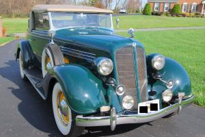 1935 Buick Series 40, 46-C Convertible - Rumble Seat - Spectacular!