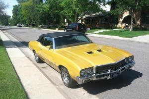 1971 Buick GS 455 Base 7.5L Convertible