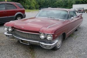 1960 Cadillac DeVille COUPE RARE!!! CLASSIC!!!