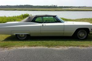 1967 Cadillac DeVille Base Convertible 2-Door 7.0L One owner 52K miles