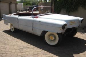 1956 Cadillac Eldorado Biarritz Convertible –Restoration Started –West Coast Car