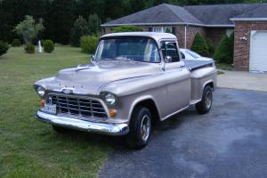1956 CHEVY TRUCK  AUTO 350 PS,DISC BRAKES,A/C **NO RESERVE*