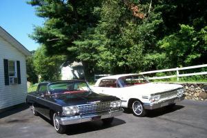 1962 +63 409 impalas NO RESERVE