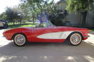 1961 Corvette Roadster 283 FI - 315hp Fuel Injection -  NO RESERVE - Fathers Day