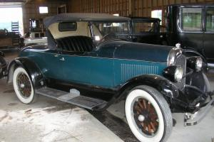 1927 Chrysler Model 60 original, The Sting movie car, roadster convertible top