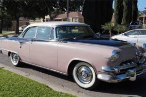 1955 DODGE CUSTOM ROYAL LANCER 2-DOOR HARDTOP TRI-TONE 52K MILES CA CAR HEMI V8