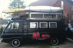 1967 Dodge A-108 Camper Van with Slant 6 and Automatic Transmission