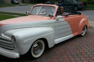1946 Ford Convertible hot rod rat rod custom street rod