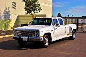 1987 GMC Sierra 3500 Crew Cab Dually-1 Owner-Clean-Certified-