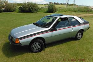 1983 RENAULT FUEGO GTX COUPE,2L Tax and MOT – ONE OF ONLY TWO LEFT ON THE ROAD!