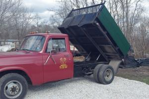 1975 International dump truck Red with black dump bed. Good solid truck!!
